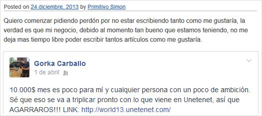 Primitivo Simón y Gorka Carballo